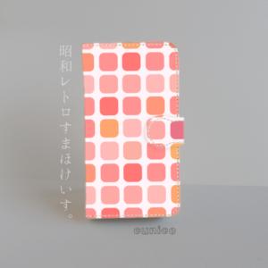 手帳型スマホケース「昭和レトロ06」